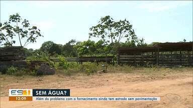 Comunidade Entre Rios reclama de problemas no abastecimento de água em Linhares, ES - Comunidade fica no interior de Linhares.