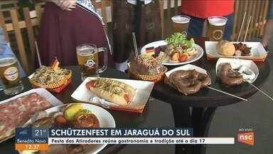 Schützenfest começa em Jaraguá do Sul com apresentações musicais e gastronomia típica - Schützenfest começa em Jaraguá do Sul com apresentações musicais e gastronomia típica