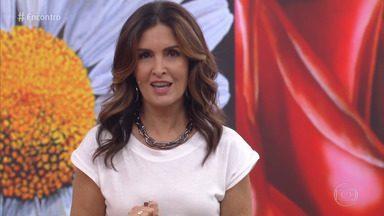 Programa de 11/11/2019 - A apresentadora Fátima Bernardes recebe o ator Ary Fontoura e as cantoras Glória Grove e Preta Gil. O programa também mostra os golpes pelo celular que atingem 40 pessoas pro hora no Brasil.