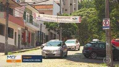 Belo Horizonte ganha novas vagas de estacionamento rotativo - Novas vagas foram implantadas nos bairros Cidade Nova e Floresta