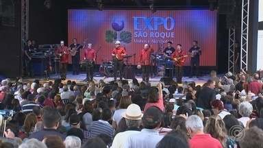 Expo São Roque chega ao fim com mais de 60 mil participantes - Mais de 60 mil pessoas participaram da Expo São Roque deste ano. A festa - que teve o apoio da TV TEM - terminou no domingo (10) e celebrou a produção do vinho e a colheita da alcachofra.
