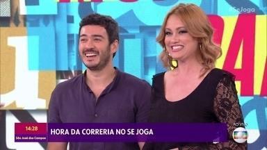 Ellen Rocche e Marcos Veras disputam o 'Monta Palavras' - Quem será que venceu a disputa?