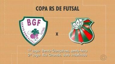 BGF se classifica para as quartas de final na Copa RS - Depois de eliminar o Ibira, time de Bento vai pegar o São Paulo de Rio Grande.