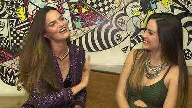 Barbara Fialho fala sobre carreira de cantora e maternidade - Modelo esteve no júri artístico do 'Dança dos Famosos'
