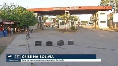 Fronteira com a Bolívia permanece - As próximas horas vão ser decisivas para a Bolívia. O parlamento boliviano marcou para amanhã a leitura das cartas de renúncia do presidente Evo Morales e do vice, além dos presidentes do Senado e da Câmara.