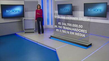 13º salário deve injetar R$ 237 milhões na economia em Ponta Grossa - São aproximadamente 90 mil trabalhadores que têm direito ao benefício na cidade.