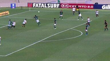 Corinthians e Palmeiras empatam em clássico do Campeonato Brasileiro - Jogo ficou em 1 a 1.