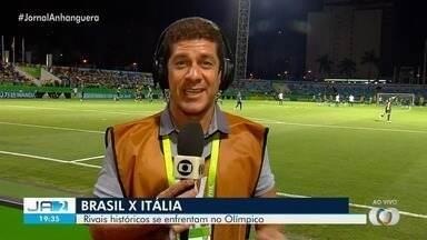 Seleção Brasileira enfrenta a Itália no Estádio Olímpico em Goiânia - A bola rola na noite desta segunda-feira (11).