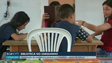 Biblioteca muda a rotina de moradores do Xarquinho - A Associação de Moradores também se tornou espaço de leitura.