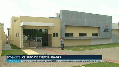 Governo oficializa saída do consórcio do Centro de Especialidades - O Estado não vai administrar o local, mas deve repassar mais de R$500 mil por mês.