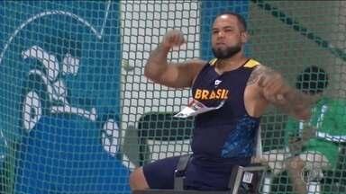 Claudiney Batista conquista o ouro no Mundial de Atletismo Paralímpico - Brasil está em terceiro lugar no quadro de medalhas.