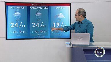 Confira previsão do tempo para esta terça - Tendência é menor chance de chuva na região.