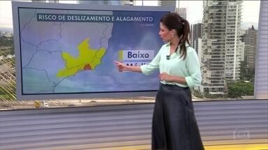Alerta de temporal entre o norte do Rio de Janeiro e o Espírito Santo - Veja como fica o tempo em outras regiões.