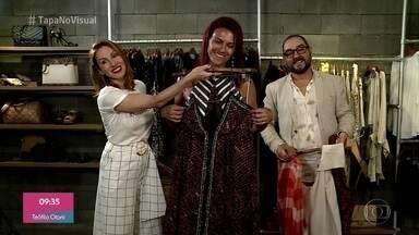 Dani Ferraz dá dicas de vestuário para valorizar o corpo de Priscila - A transformação do 'Tapa no Visual' começa pelas roupas