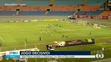 Vila Nova enfrenta o Guarani nesta quarta-feira (13) em Goiânia - O jogo é decisivo para que o Vila possa escapar do rebaixamento.