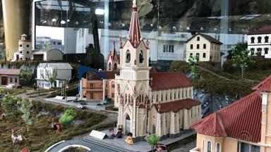 Garibaldi ganha uma representação em miniatura da cidade no século XX - A miniatura foi construída como forma de recordar a história da cidade.