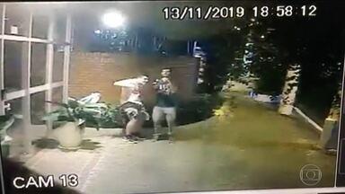 Polícia investiga queda de marquise que deixou um morto e um ferido em SP - Thiago Nery Qualiotto, de 17 anos, morreu na hora. O outro estudante teve várias fraturas e está internado.