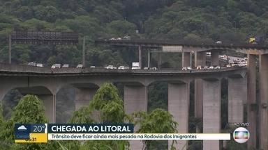 Feriado começa com movimento tranquilo nas estradas - Veja a situação da Rodovia dos Imigrantes e do sistema Anhanguera-Bandeirantes