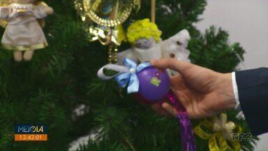 Telespectadores enviam enfeites para a árvore de Natal da RPC - Doe um brinquedo e juntos vamos fazer um grande Natal.