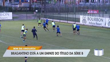 Bragantino está a um empate do título da Série B - Massa Bruta joga nesta sexta contra o Criciúma.