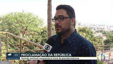 Você sabe o significado do feriado da proclamação da república? - Nesta data, o Marechal Deodoro da Fonseca liderou um golpe militar para derrubar a monarquia.
