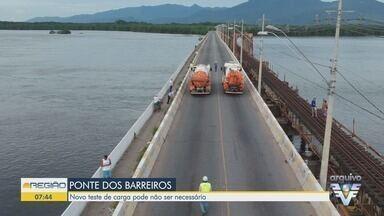 Situação da Ponte dos Barreiros é discutida em reunião - Representantes da Prefeitura de São Vicente e o IPT participaram do encontro.
