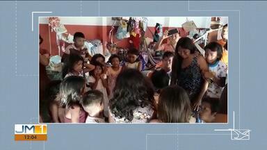 Bebê morre por infecção causada por uma pneumonia em Imperatriz - Os pais da criança são índios venezuelanos, que estão refugiados no Brasil e atualmente estão alojados na sede da FUNAI na região tocantina.