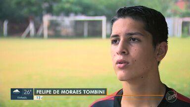Jovem de 13 anos defende o Jardim Paranapanema na Taça das Favelas - Garoto fala da emoção de disputar a competição.