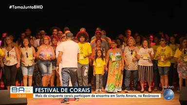 Festival de Corais acontece em Santo Amaro, Recôncavo Baiano, nesta sexta-feira - O evento reúne grupos musicais de várias cidades do estado.