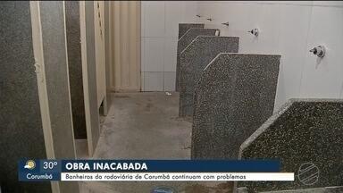 Mesmo depois de reforma, rodoviária de Corumbá apresenta problemas - Revitalização custou mais de R$ 100 mil