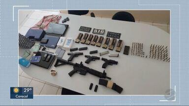 Polícia Militar encontra armas e munições em Ponta Porã - Quarteto foi preso