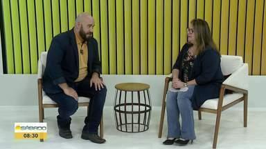 """Vencedora de quadro no programa """"Mais você"""" comenta vitória - Além de vencer o """"Jogo de Panelas"""", Simone dos Santos também venceu o câncer."""