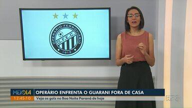Operário enfrenta o Guarani fora de casa neste sábado (16) - Jogo vale pela Série B do Campeonato Brasileiro.