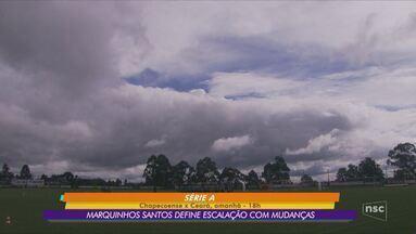 Chapecoense se prepara para confronto com o Ceará - Chapecoense se prepara para confronto com o Ceará