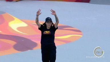 Pâmela Rosa vence campeonato internacional de skate no Rio - Ela está na disputa por vaga nos jogos olímpicos.