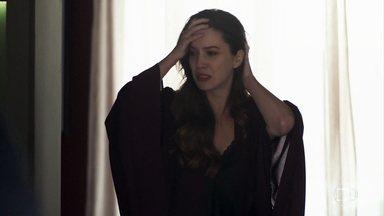 Fabiana ameaça Agno com arma após saber de golpe contra ela - Bernardo avisa à Fabiana que não tem como rastrear o dinheiro