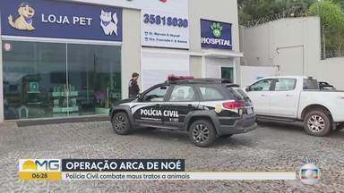 Clínica congelava animais mortos para continuar cobrando por internação - Dono foi preso em operação da Polícia Civil.