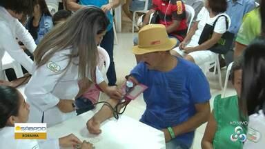 Programa promovido pelo Grupo Rede Amazônica oferece atendimentos gratuitos em Roraima - Atendimentos seguem até as 13h.