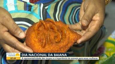 Saiba mais sobre a importância do acarajé para a cultura baiana - Nesta segunda-feira (25) é celebrado o Dia da Baiana.