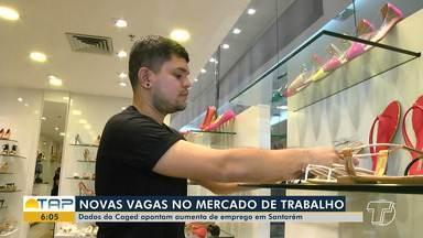 Dados do Caged apontam aumento no número de vagas de emprego em Santarém - O saldo é positivo em comparação a 2018. Investimentos públicos, retomada de obras e o setor de serviços tem impulsionado o crescimento.