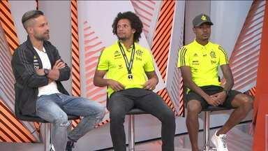 Diego valoriza talento de Bruno Henrique na campanha rubro-negra - Diego valoriza talento de Bruno Henrique na campanha rubro-negra