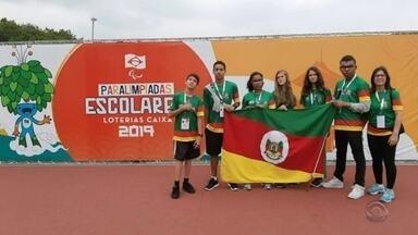 Alunos da região conquistam medalhas na Paralimpíada Escolar de São Paulo - Assista ao vídeo.