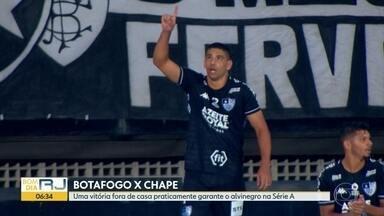 Botafogo enfrenta Chape no Sul - Vitória alvinegra amanhã deixará o time muito perto de se manter na Série A. Vasco encara o São Paulo também fora de casa.