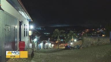 Moradores de Congonhas ficam assustados após tremor de terra durante a noite - Os dados do observatório da UNB apontam tremor de magnitude 3.2 no município de Belo Vale, vizinho a Congonhas.