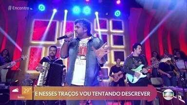 Leo Chaves abre o 'Encontro' cantando e levantando a plateia - O cantor começa uma nova fase em carreira solo