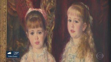 Obra do pintor francês Renoir será retirada da exposição do Masp para ser restaurada - A obra 'Rosa e Azul' _que tem 138 anos_ será retirada da exposição do Masp para ser restaurada no começo do ano.