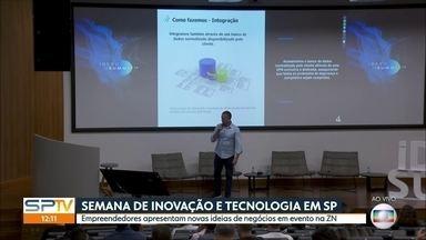 Evento reúne empreendedores na zona norte da capital - É apenas um dos mais de 700 eventos da São Paulo Tech Week, uma semana sobre inovação e tecnologia que vai até sexta-feira