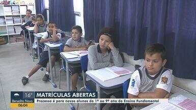 Matrículas estão abertas para novos alunos do 1º ao 9º ano em Joinville - Matrículas estão abertas para novos alunos do 1º ao 9º ano em Joinville