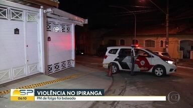 Policial militar é baleado na Zona Sul de São Paulo - Crime acontece por volta das 21:30 e o PM passou por cirurgia.