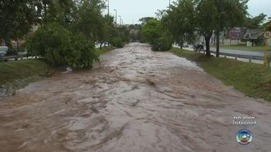 Bauru registra chuva forte na manhã desta quarta-feira - O nível do Rio Bauru subiu bastante. Segundo o Ipmet da Unesp, a chuva acumulada já chega a 38 milímetros, chegando perto da marca de 39,8 milímetros do dia 10 de novembro, que foi o dia com maior volume de chuva no mês até agora.